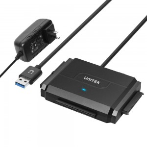 UNITEK ADAPTER USB 3.0 DO SATA II/IDE, Y-3324